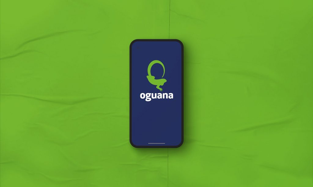 Oguana Logo App Design Dallas Texas