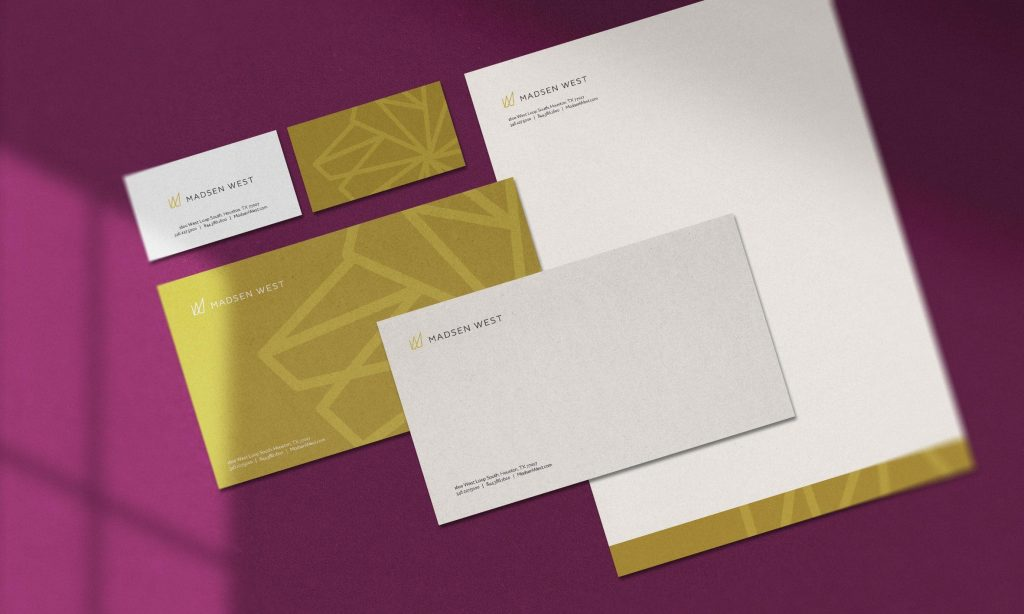 Madsen West Hotel Branding Dallas Design Co