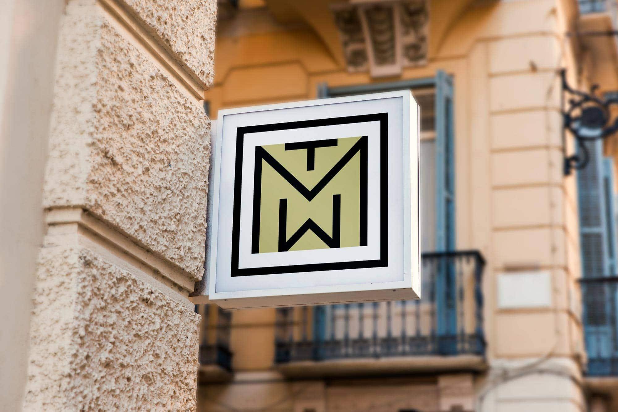 Museum Sign Design Branding