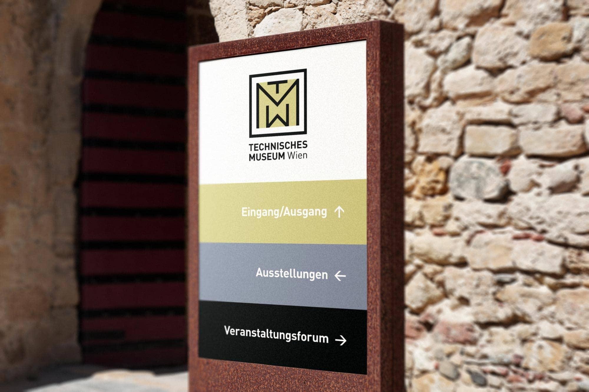 Museum Wayfinding Sign Design
