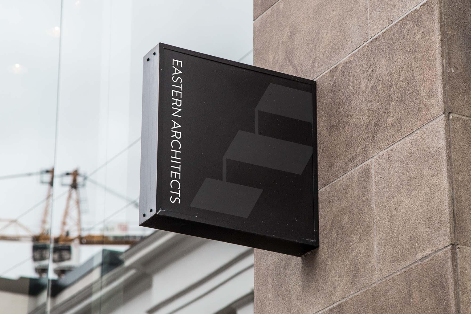 architecural logo design dallas signage