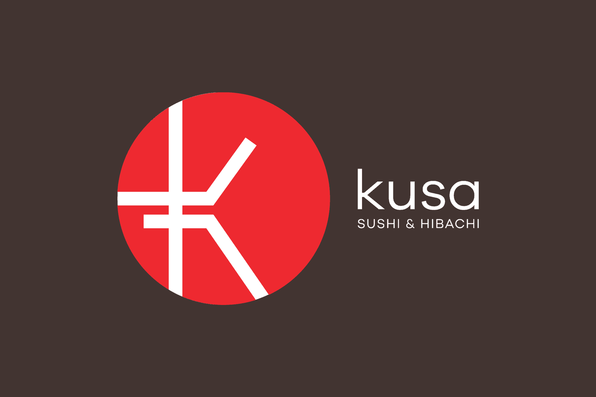 kusa japanese logo design dallas