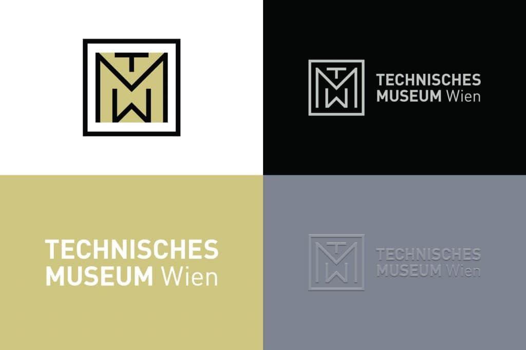 museum logo design branding