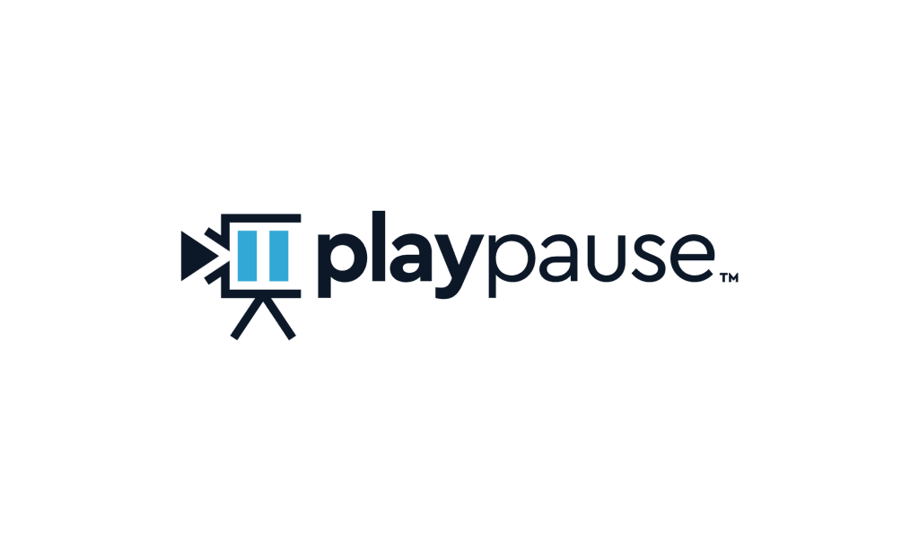 play pause logo design services