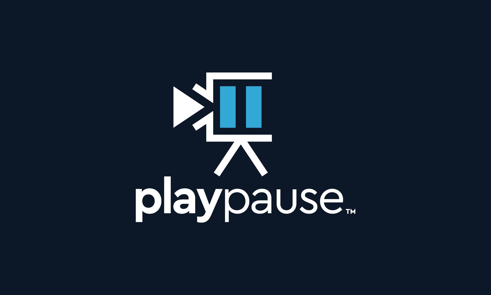Play Pause Logo Design Dallas
