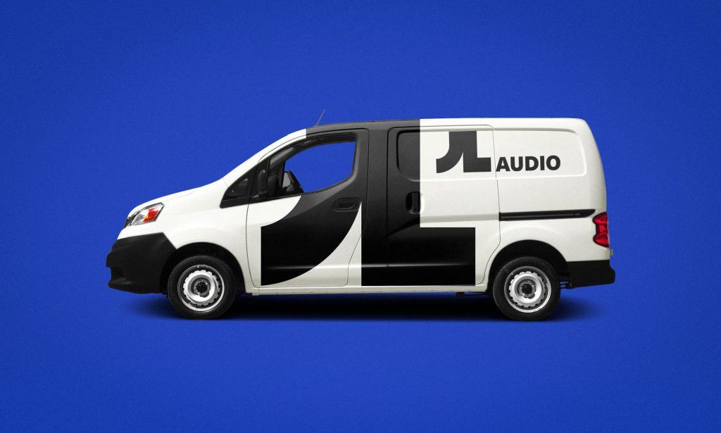 JL Audio Branding Minivan Mockup