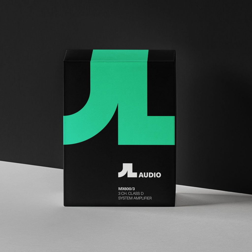 JL Audio Rebranded Packaging Design