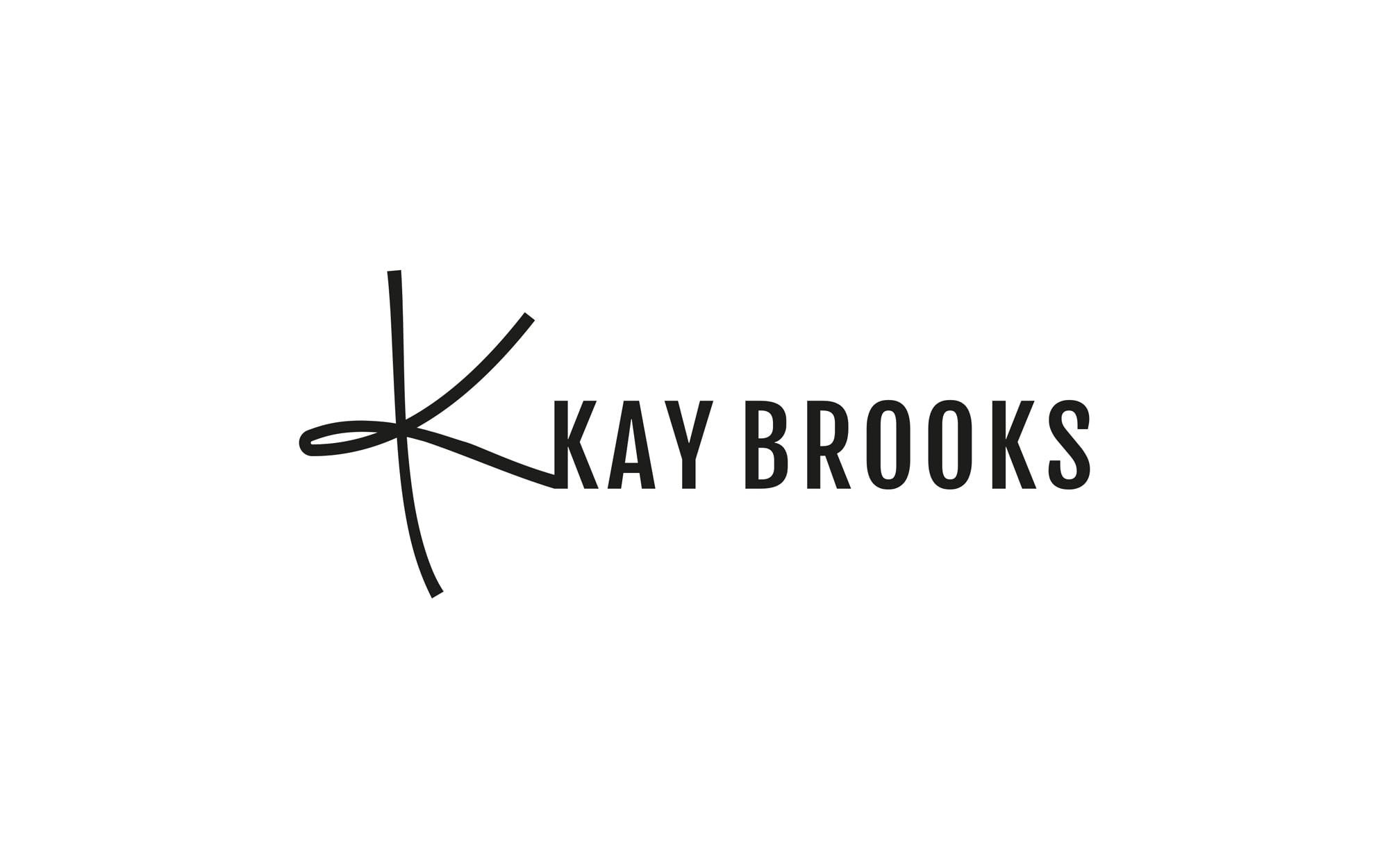 Kay Brooks Fashion Logo Design