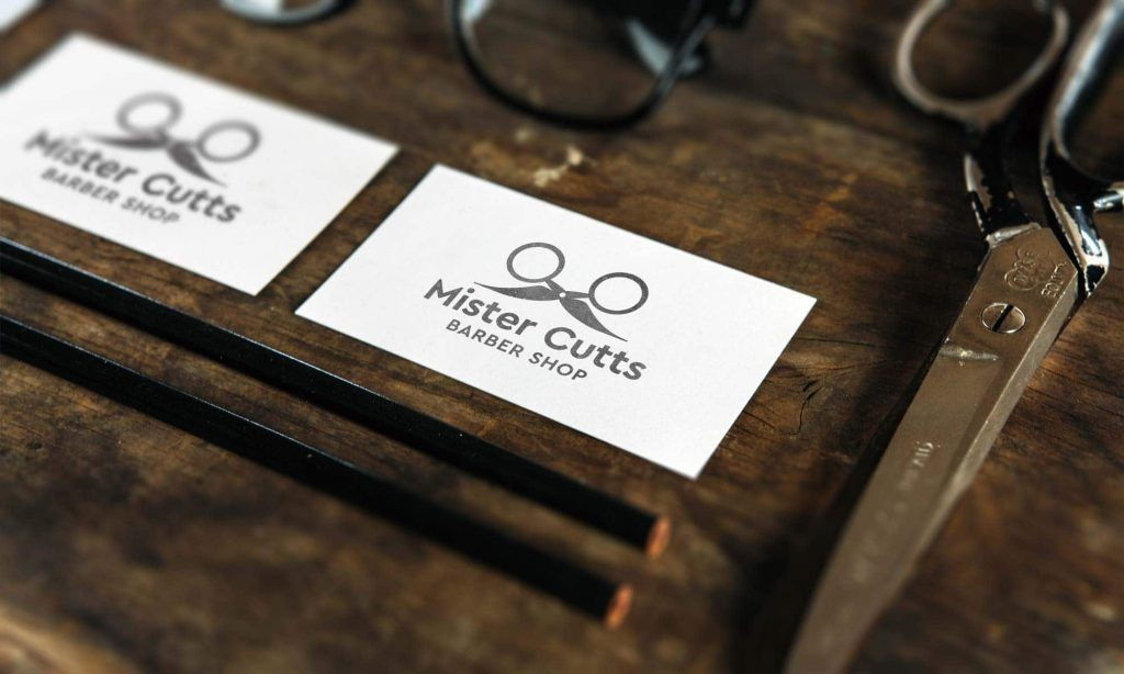 Mr Cutts Barber Shop Branding Design