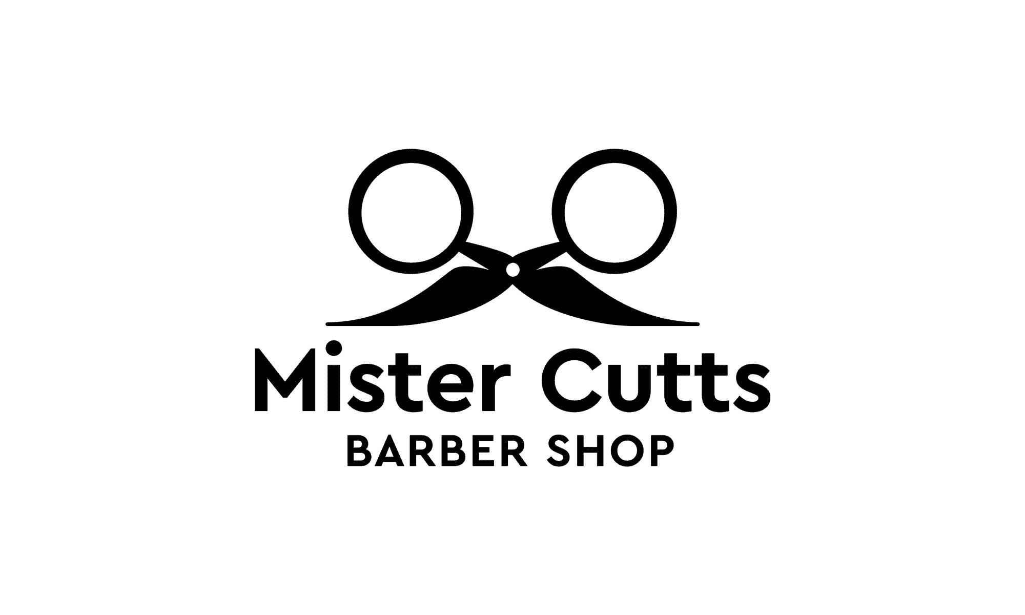 Mr Cutts Barber Shop Logo Design