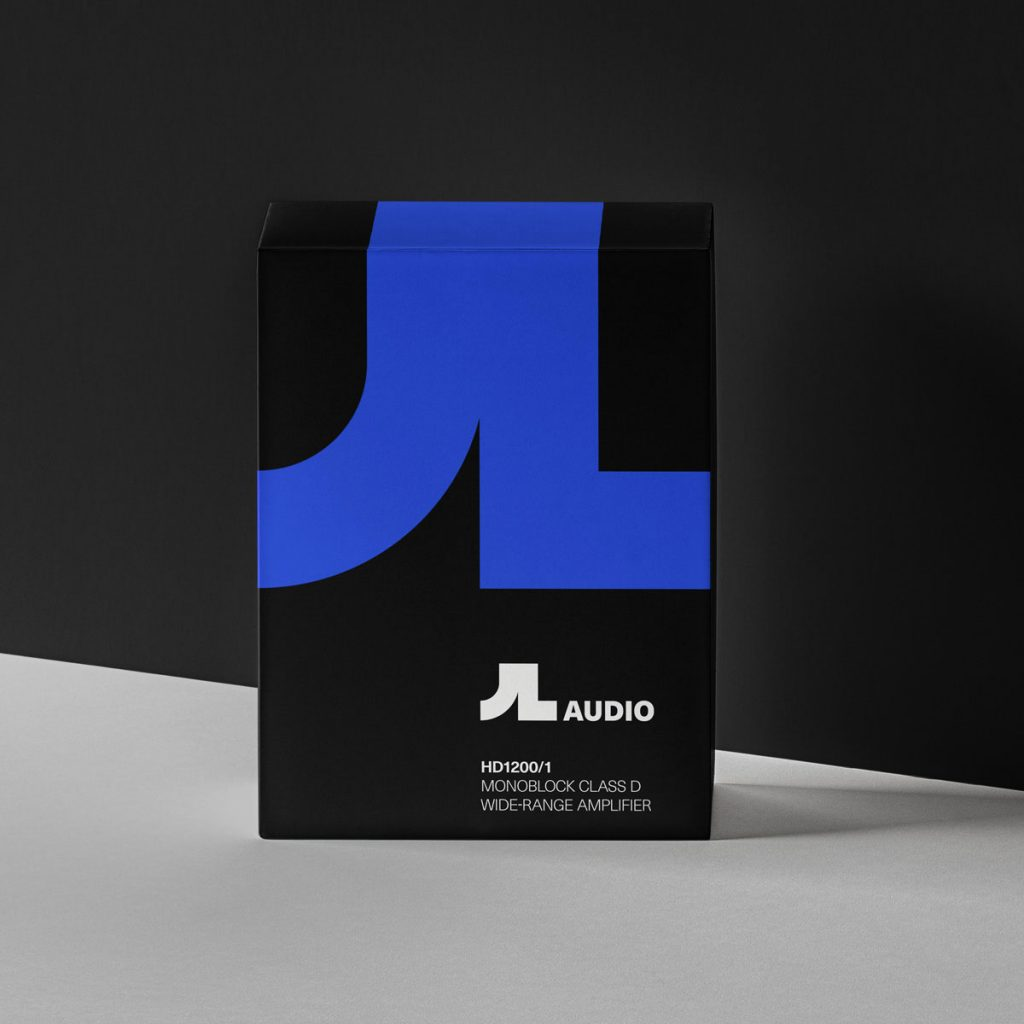 Product Packaging Branding JL Audio