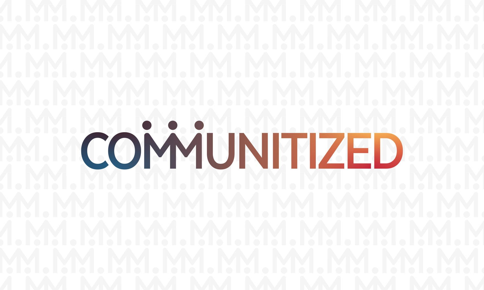 communitized logo design dallas