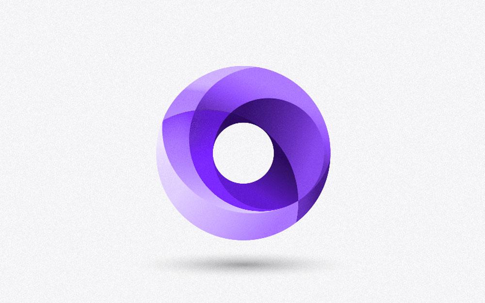 3d logo design examples