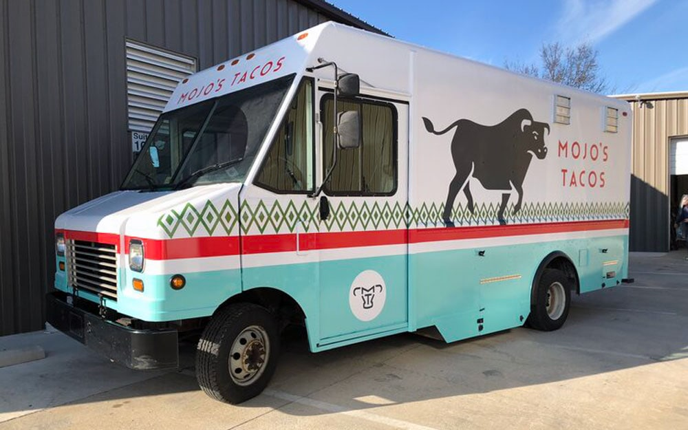 taco food truck design dallas
