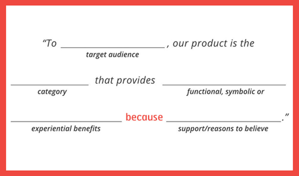 what is a brand positioning statement